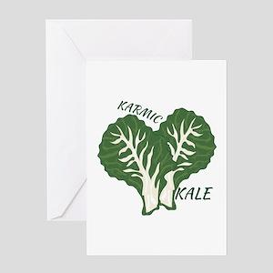 Karmic Kale Greeting Cards