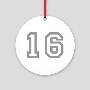 16 Ornament (Round)