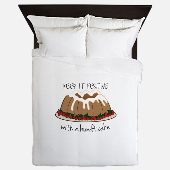 Keep It Festive Queen Duvet
