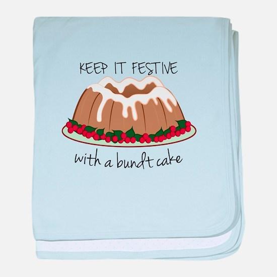 Keep It Festive baby blanket