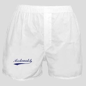Mcdonald - vintage (blue) Boxer Shorts