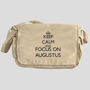 Keep Calm and Focus on Augustus Messenger Bag
