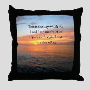 PSALM 118:14 Throw Pillow