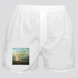 PSALM 118:14 Boxer Shorts