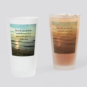 PSALM 118:14 Drinking Glass