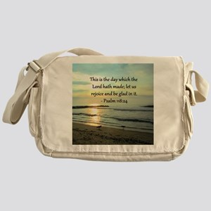 PSALM 118:14 Messenger Bag