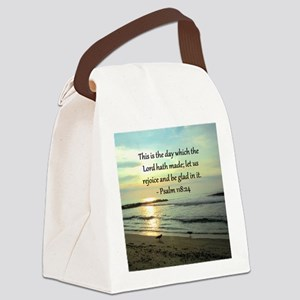 PSALM 118:14 Canvas Lunch Bag