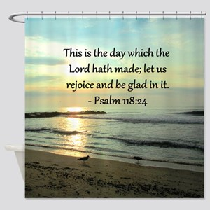 PSALM 118:14 Shower Curtain