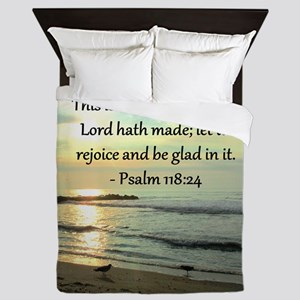 PSALM 118:14 Queen Duvet