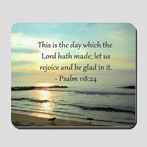 PSALM 118:14 Mousepad