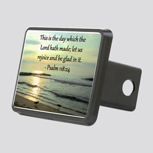 PSALM 118:14 Rectangular Hitch Cover