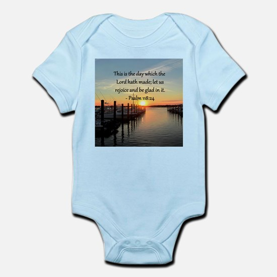 PSALM 118:14 Infant Bodysuit