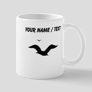 Seagulls Silhouette (Custom) Mugs