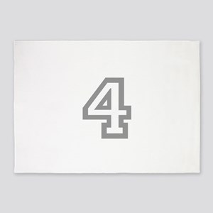 4 5'x7'Area Rug