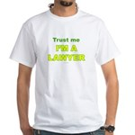 Lawyer White T-Shirt
