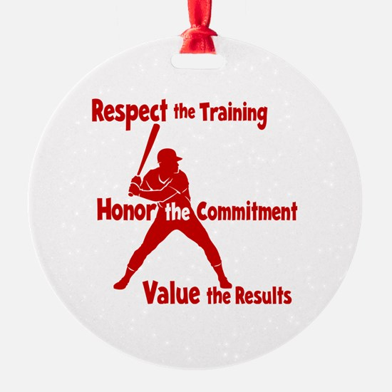 VALUE BASEBALL Ornament