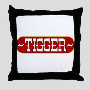 tigger-country Throw Pillow