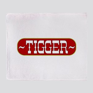 tigger-country Throw Blanket