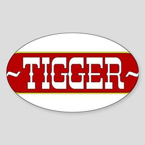 tigger-country Sticker