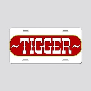 tigger-country Aluminum License Plate