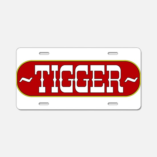tigger-country.png Aluminum License Plate