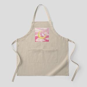 Moon Bunny Pink Apron