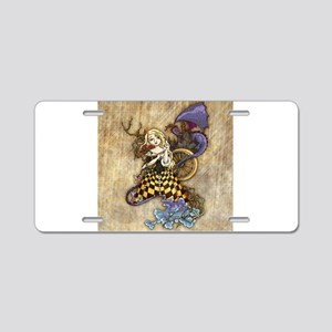 Sleeping Beauty Aluminum License Plate