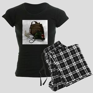 Army Medic Women's Dark Pajamas