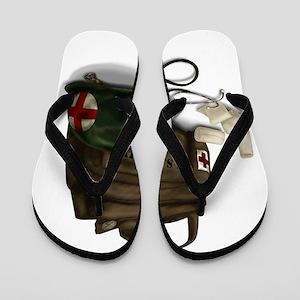 Army Medic Flip Flops