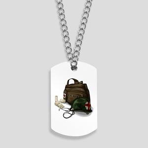 Army Medic Dog Tags