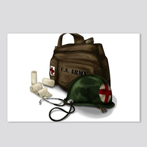 Army Medic Postcards (Package of 8)