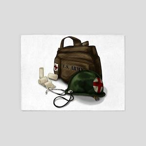 Army Medic 5'x7'Area Rug
