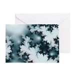 Winter Fractal Greeting Cards (Pk of 10)