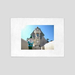 Sphinx Gnome 5'x7'Area Rug