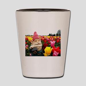 Gnome Petals Shot Glass