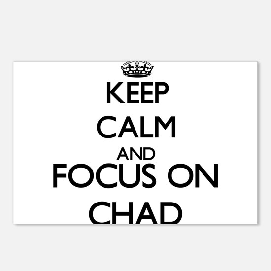 Keep Calm and Focus on Ch Postcards (Package of 8)