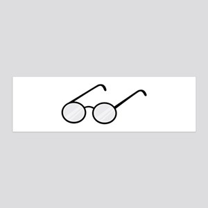 Eye Glasses Wall Decal