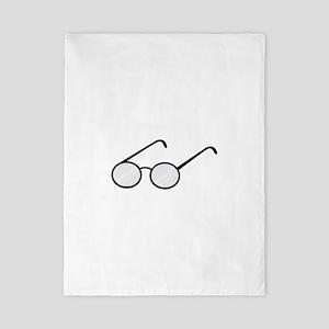 Eye Glasses Twin Duvet