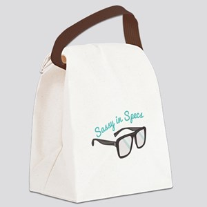 Sassy In Specs Canvas Lunch Bag