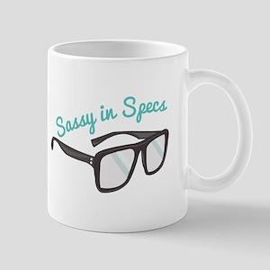 Sassy In Specs Mugs
