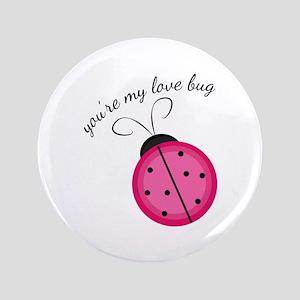 "Love Bug 3.5"" Button"
