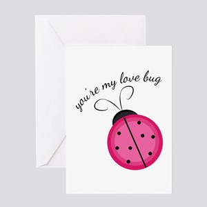 Love Bug Greeting Cards