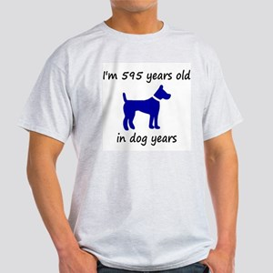 85 dog years blue dog 1 T-Shirt