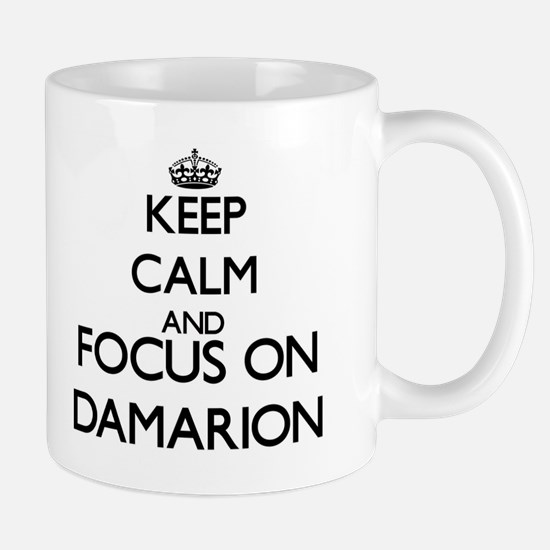 Keep Calm and Focus on Damarion Mugs