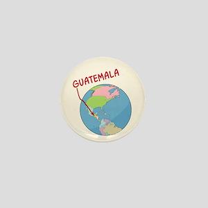 00-ornR-guatemalaglobe Mini Button
