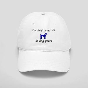 85 dog years blue dog 2 Baseball Cap