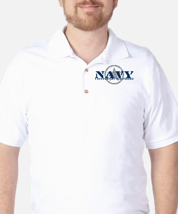 Navy - I Support My Girlfriend Golf Shirt