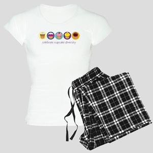 cupcake-diversity Women's Light Pajamas