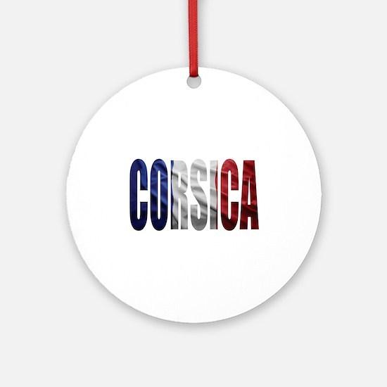 Corsica Round Ornament
