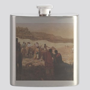 At a Moqui Navajo Horse Race Flask